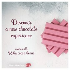 image 2 of Kit Kat 4 Finger Ruby Chocolate Bar 41.5G