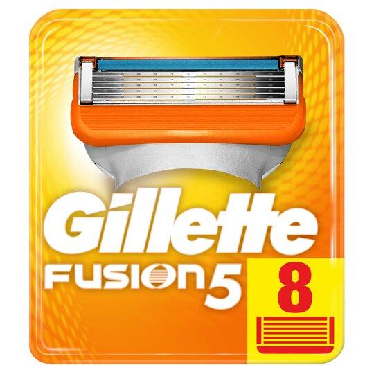 Gillette Fusion Razor Blades Refill 8 Pack