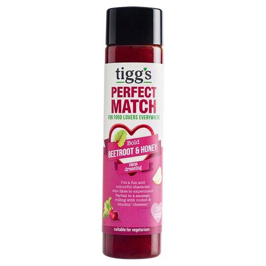 Tigg's Perfect Match Beetroot & Honey Dressing 160Ml