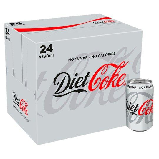 Diet Coke 24 X 330 Ml Pack