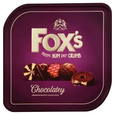 image 2 of Fox's Chocolatey Tin 365G
