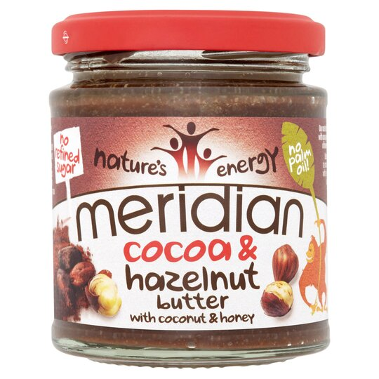 Meridian Hazelnut And Cocoa Butter 170G