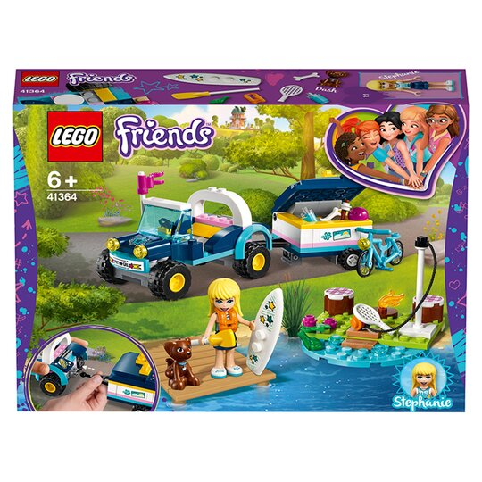 image 1 of LEGO Friends Stephanie's Buggy & Trailer Doll Playset  41364