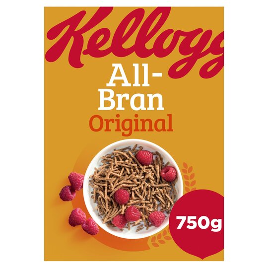 Kellogg's All-Bran Cereal 750G