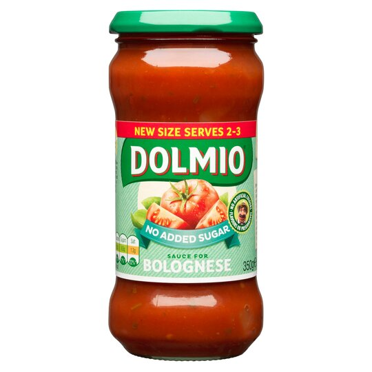 Dolmio Bolognese Original No Added Sugar Pasta Sauce 350G