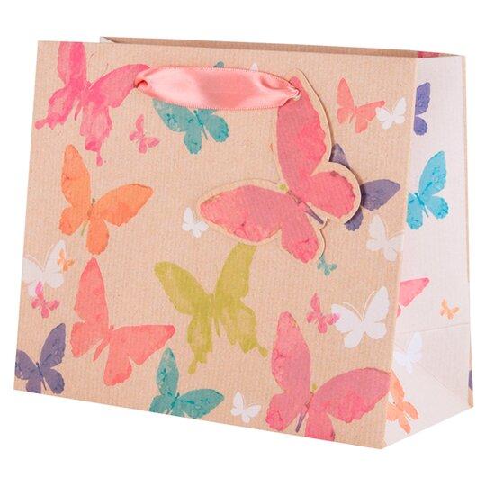 Tesco Kraft Butterfly Small Bag