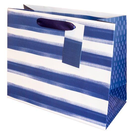 Tesco Santorini Striped Bag Medium