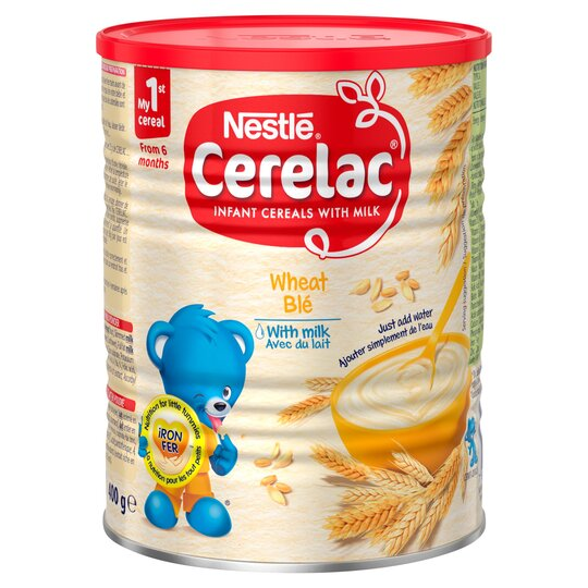 Nestle Cerelac 6Mnth Wheat&Milk Cereal 400G
