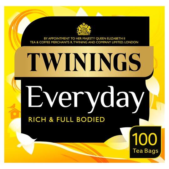 Twinings Everyday 100 Tea Bags 290G