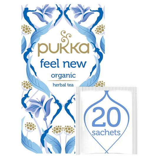 Pukka Feel New Herbal Tea 20S 40G