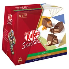 image 1 of Kit Kat Senses Assorted Box 20 Bite Size Pieces 200G