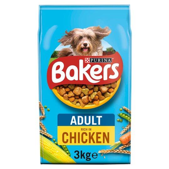 image 1 of Bakers Dog Food Chicken & Vegetable 3Kg
