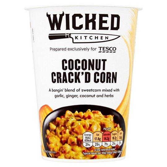 Wicked Kitchen Coconut Crack'd Corn 90G
