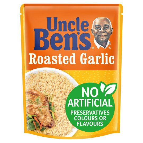 image 1 of Uncle Ben's Special Roasted Garlic Rice 250G
