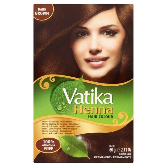 Henna Hair Colour Dark-Brown