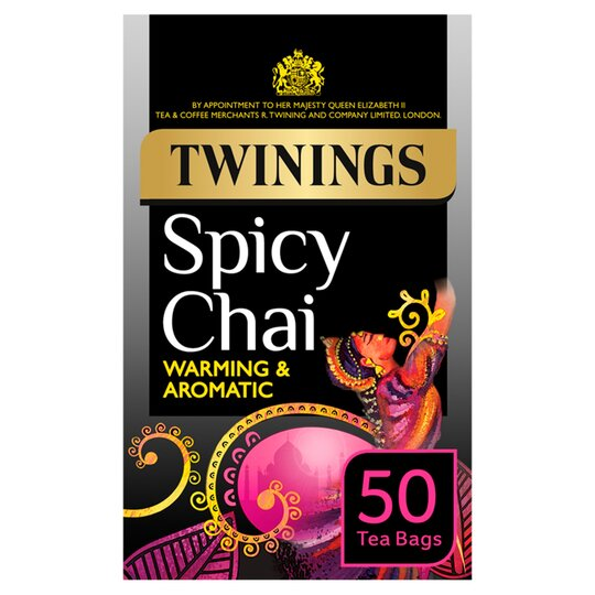 Twinings Spicy Chai 50'S