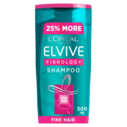 image 1 of L'oreal Elvive Fine Hair Thickening Shampoo 500Ml
