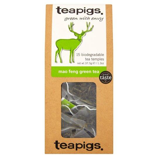Teapigs Mao Feng Green Tea 15'S 37.5G