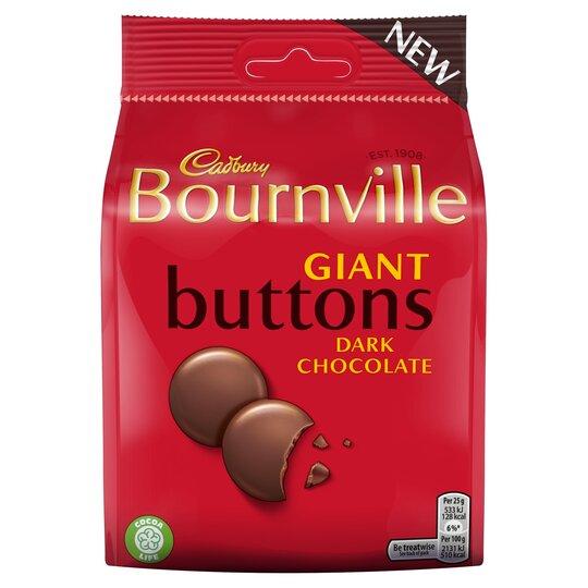 Cadbury Bournville Buttons 110G