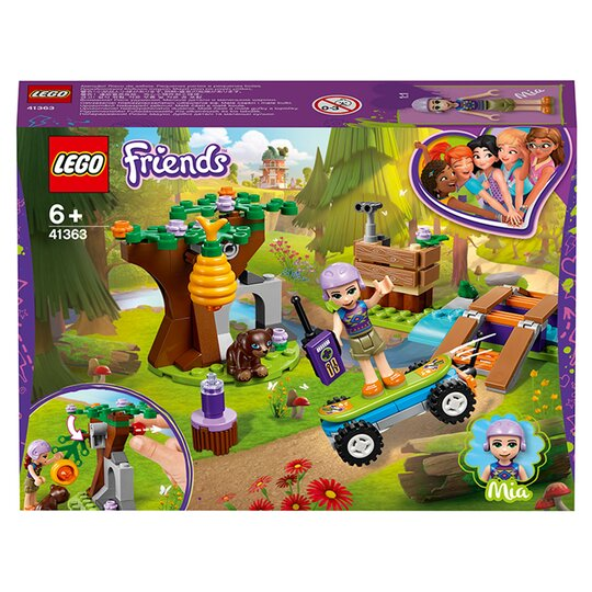 image 1 of LEGO Friends Mia's Forest Adventure Doll Playset 41363