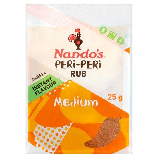 Nando's Peri Peri Rub Medium 25G
