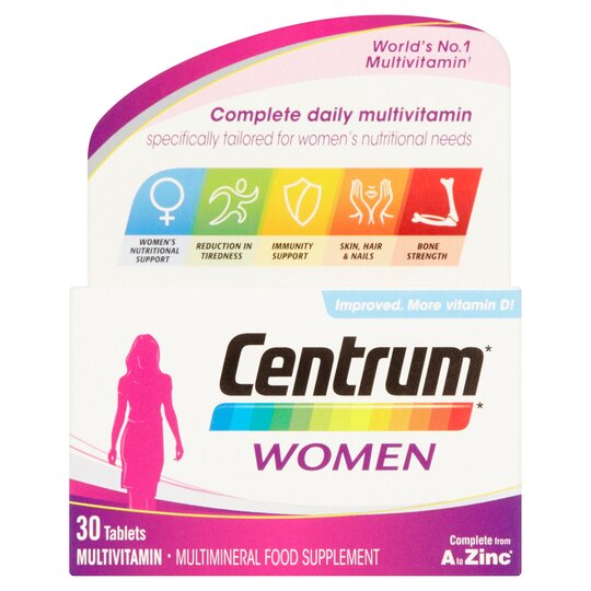 ff25958984b Centrum Women 30'S - Tesco Groceries