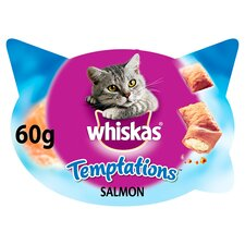 image 1 of Whiskas Temptations Salmon 60G