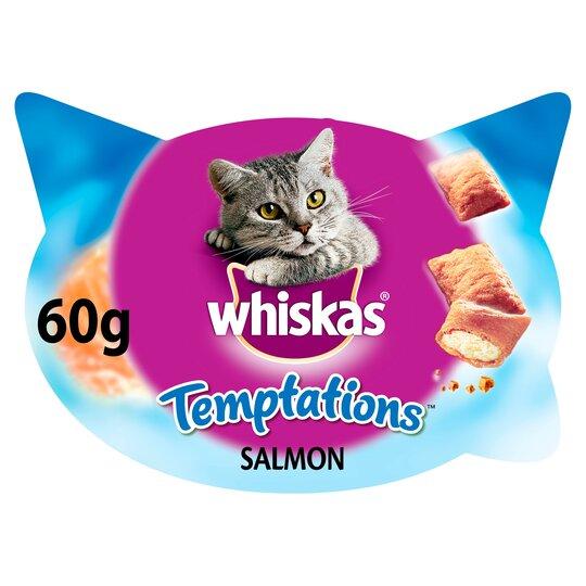 image 1 of Whiskas Temptations Salmon 60G