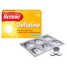 image 2 of Rennie Deflatine Indigestion Tablets 36'S