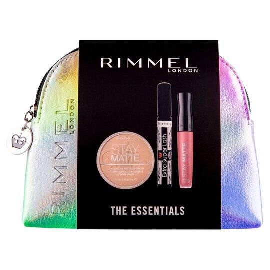 Christmas Makeup Gift Sets.Rimmel Christmas Make Up Bag Gift Set Tesco Groceries
