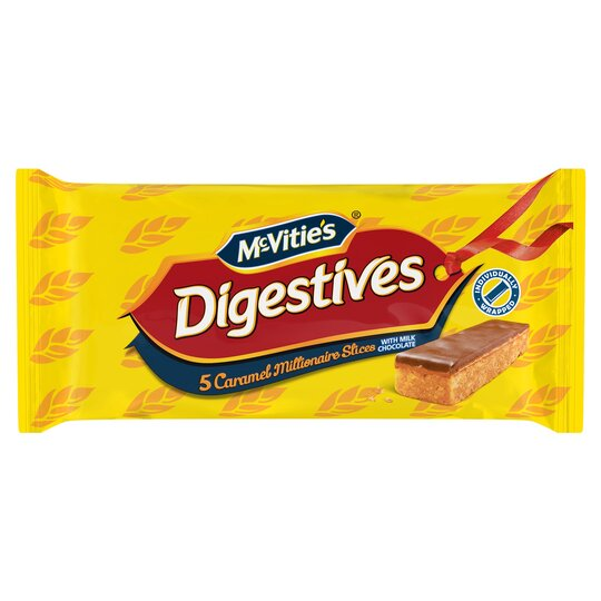 image 1 of Mcvities Digestive Caramel Slice 5 Pack 124.4G