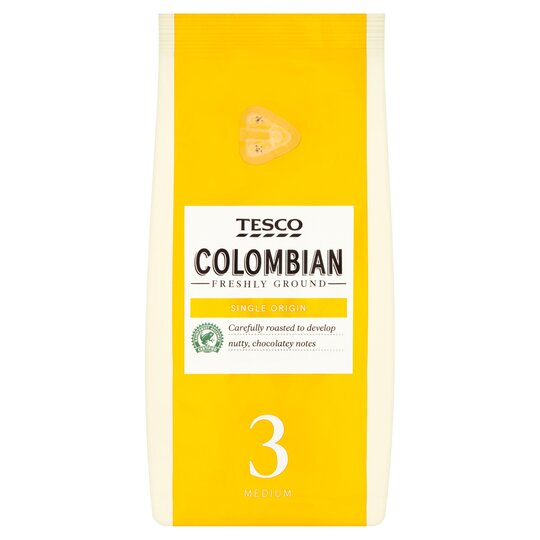 Tesco Colombian Ground Coffee 227G
