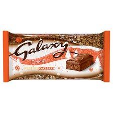 image 1 of Galaxy Chocolate Orange Cake Bars 5 Pack