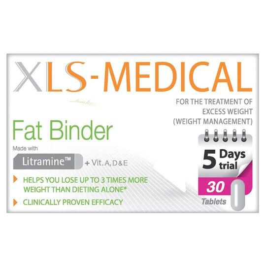 Xls Medical Fat Binder 30s