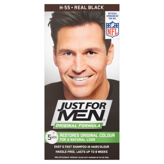 Just For Men Hair Colourant Real Black
