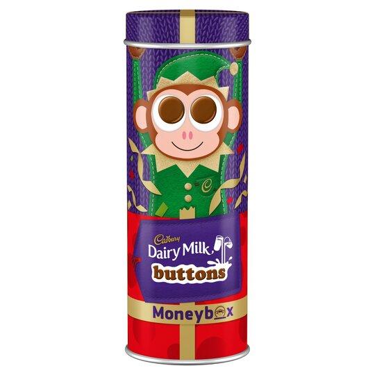 Cadbury Dairy Milk Moneybox Tin Tube 120G