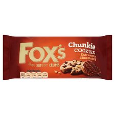 image 1 of Fox's Extremely Milk Chocolate Chunkie Cookies 175G