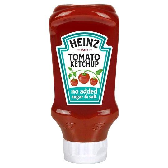 Heinz Ketchup No Added Sugar & Salt 570Ml