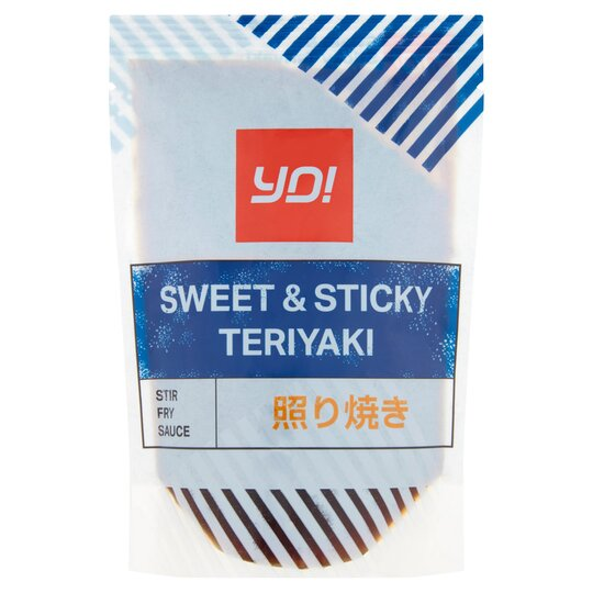 Yo! Teriyaki Sweet & Sticky Stir Fry Sauce 100G