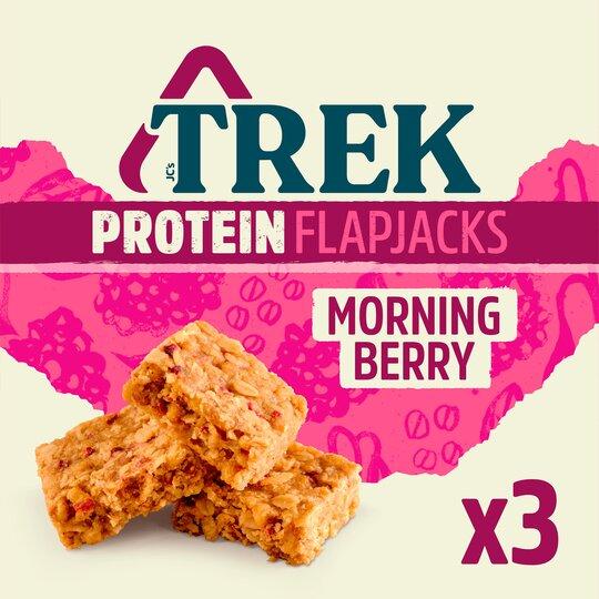 Trek Flapjack Morning Berry 3X50g