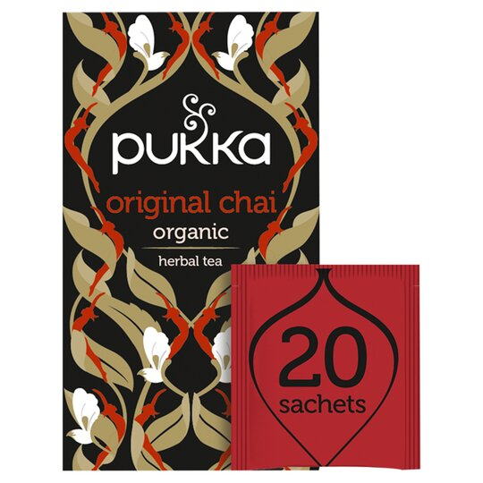 Pukka Herbs Organic Fair Trade Original Chai 40G
