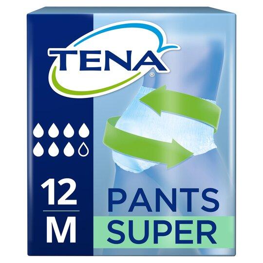 Tena Super Medium Bladder Weakness Pants 12 Pack