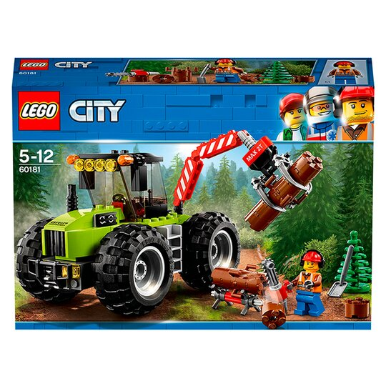 LEGO City Forest Tractor Farm Toy 60181