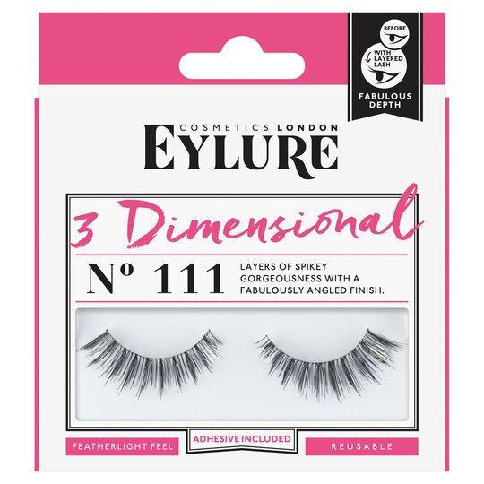 dc0269af199 Eylure False Lashes 3Dimensional 111 - Tesco Groceries