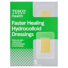 Tesco Hydrocolloid Dressings Assorted 5'S