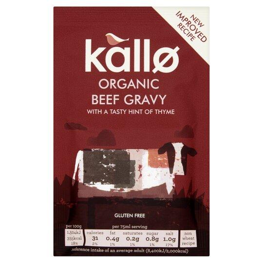Kallo Organic Beef Gravy Granules 32G