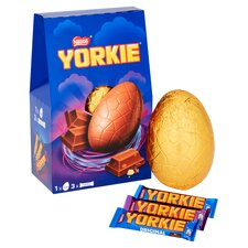 image 1 of Nestle Yorkie Milk Chocolate Easter Egg And Chocolate 336G