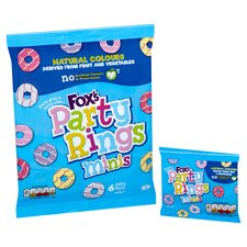 image 2 of Fox's Mini Party Rings 120G