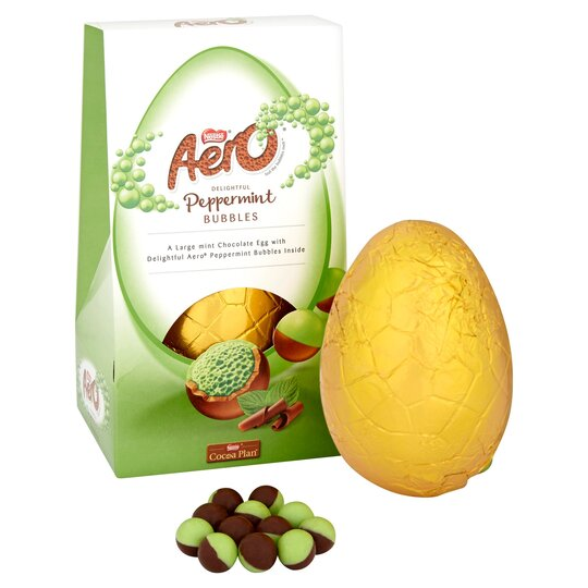 image 1 of Nestle Aero Bubble Peppermint Easter Egg 235G