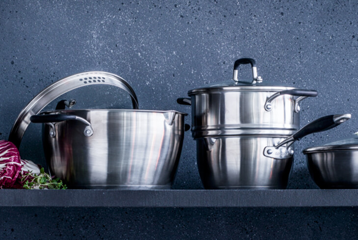 Shop professional-quality cookware with your groceries